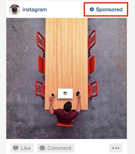 (인스타그램 광고. 사용자 경험을 망치지 않기 위해, 일부 브랜드와 계약을 맺고 '퀄리티'가 보장된 광고만을 내보내고 있는 중. 사진 = 인스타그램)