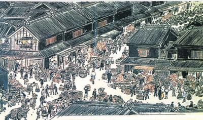 (일본의 전통 시장. 사진=텐진 마켓)
