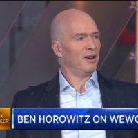 벤 호로위츠가 기업문화와 위워크, 우버 등에 대한 생각을 얘기합니다